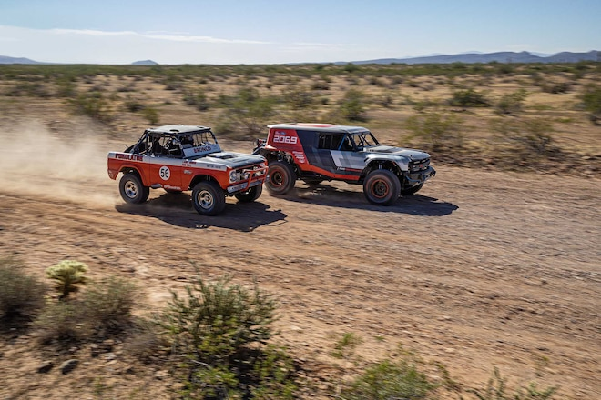 Ford Bronco R Prototype Baja 1000 Race Truck Revealed at 2019 SEMA