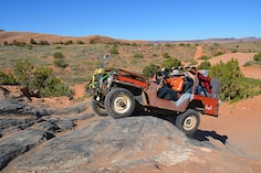 Rusty Relics Invade Moab for Friday Flatfender Fun Run