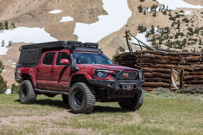 Don't Race This Long Travel 2012 Toyota Tacoma to Camp. You Will Lose!