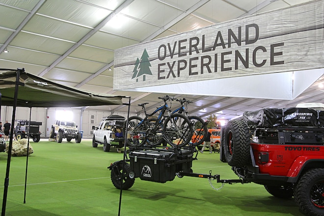 SEMA 2019: A Photo Gallery of Vehicles and Trailers at the New-for-2019 Overland Experience! #MTSEMA19