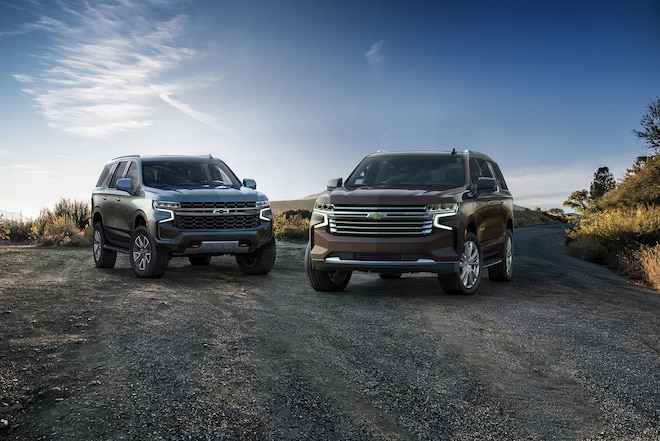 Top Ten Differences Between The 2020 and 2021 Chevrolet Tahoe