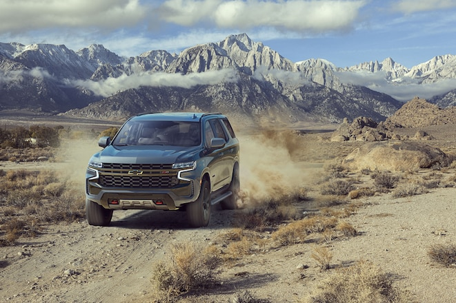 What is the 2021 Chevrolet Suburban and Tahoe Z71 Off-Road Package?