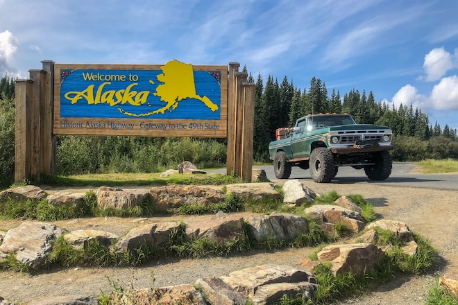 We Drive Our 1977 Big-Block Ford F-150 on 42s All the Way to Alaska for Ultimate Adventure