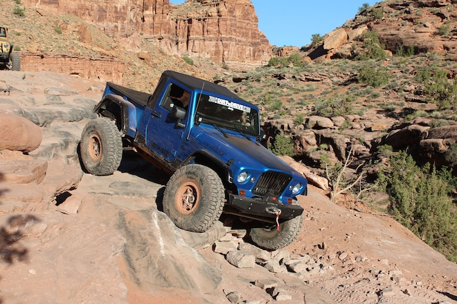 """2012 Jeep """"Gladiator"""" with an LS Engine: A Different Spin on the Gladiator Pickup"""