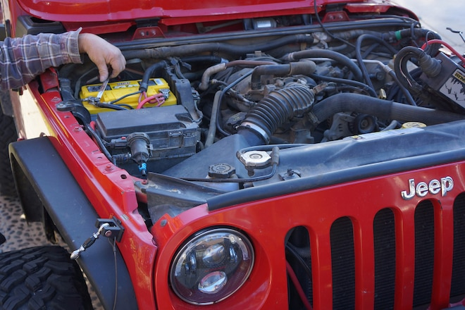 Upgrade the Jeep JK Charging System with an Optima Yellow-Top Battery