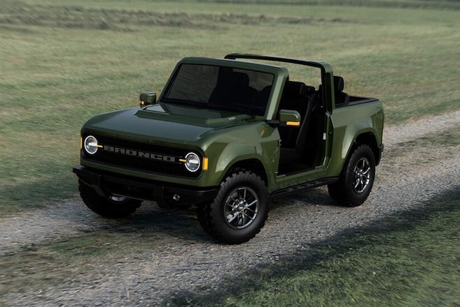 New 2021 Ford Bronco Off-Road Capability vs Jeep Wrangler