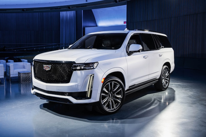2021 Cadillac Escalade First Look