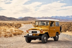 We Drive Five Vintage Land Cruiser SUVs with Toyota