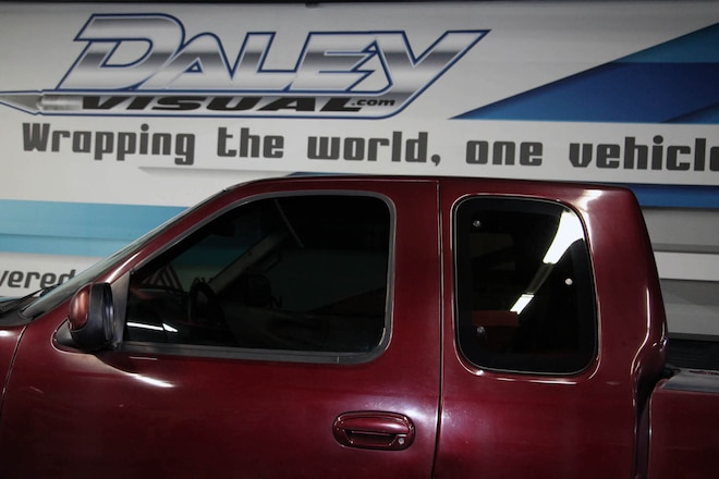 Window Tinting Install with Dub IR Film at Daley Visual