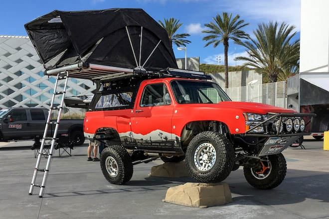 1991 K5 Blazer Built for Rockcrawling, Overlanding, and Prerunning Found at the 2020 Four Wheeler Adventure Expo