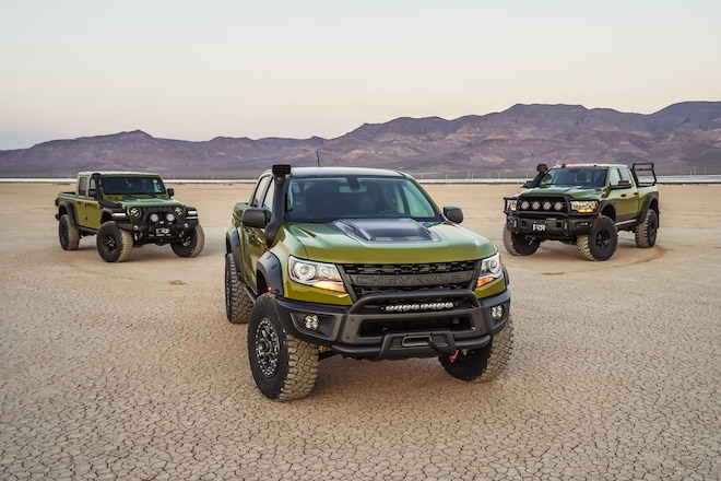 American Expedition Vehicles Turnkey Conversions for Sale: Jeep Wrangler JL, Ram Prospector, Chevy Colorado
