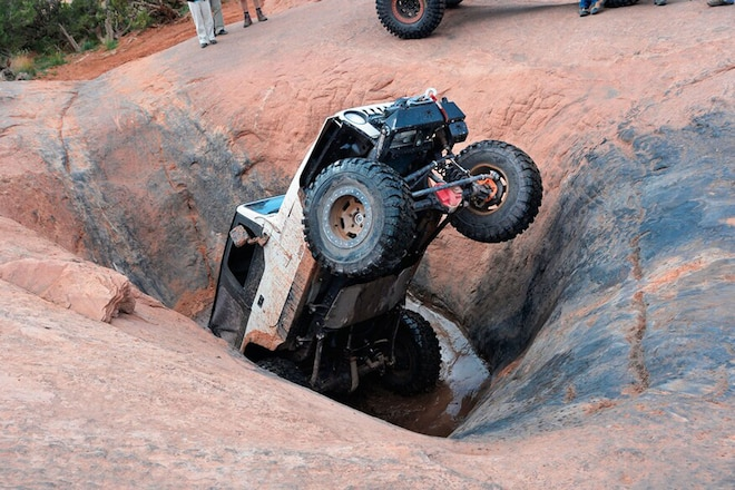 "Magazine staff ""Experts"" Mishaps in Moab"
