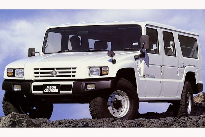 Toyota Mega Cruiser: Did You Know Toyota Made a Hummer H1 Lookalike?