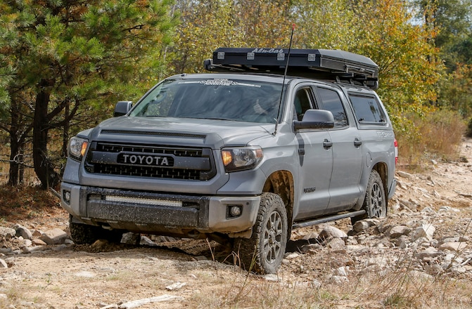 2017 Toyota Tundra Built to Conquer Transcontinental Trails Like a TRD Pro!