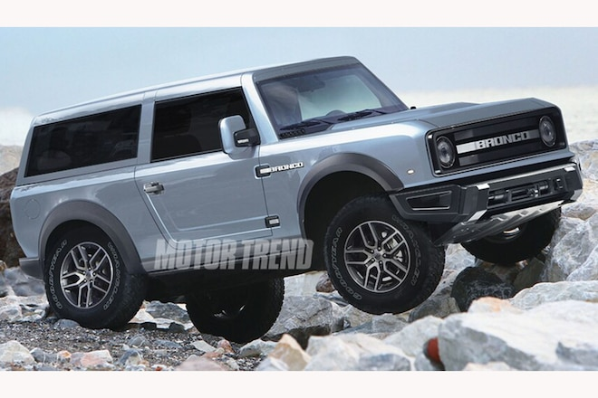 Will the New Bronco Have Solid Axles?