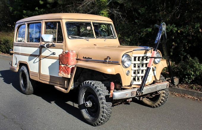 Need a 1953 Willys Overland Wagon Project?