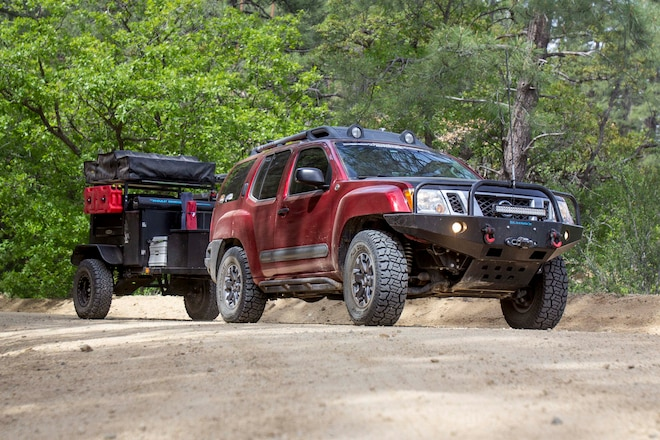 Can you overland in a Nissan Xterra?