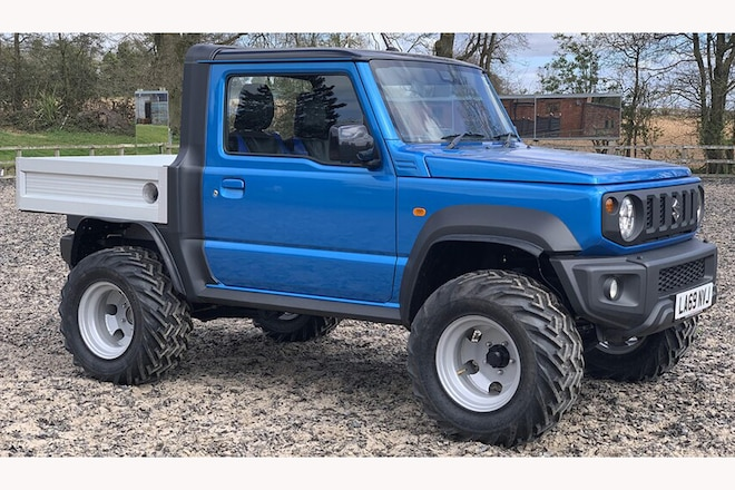 That Tiny Suzuki 4x4 You Desperately Want Now Comes in Pickup Form