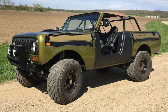 Feast Your Eyes on This Lifted, LS-Powered, Rare Scout SSII!