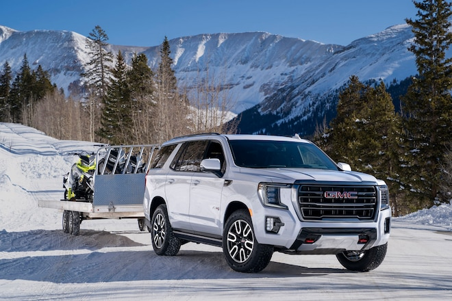 GMC's 2021 Yukon AT4 Won't Be Available With a Diesel