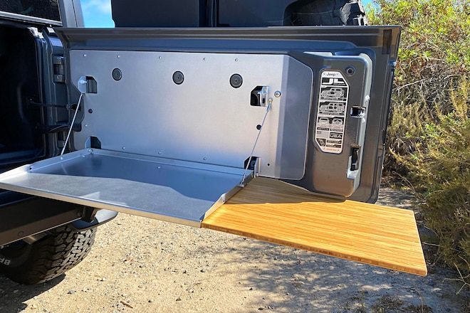 How to Install a Jeep Wrangler JL Tailgate Table