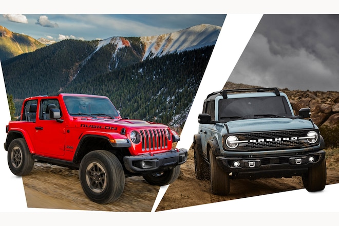 10 Ways the Jeep Wrangler Beats the All-New 2021 Ford Bronco