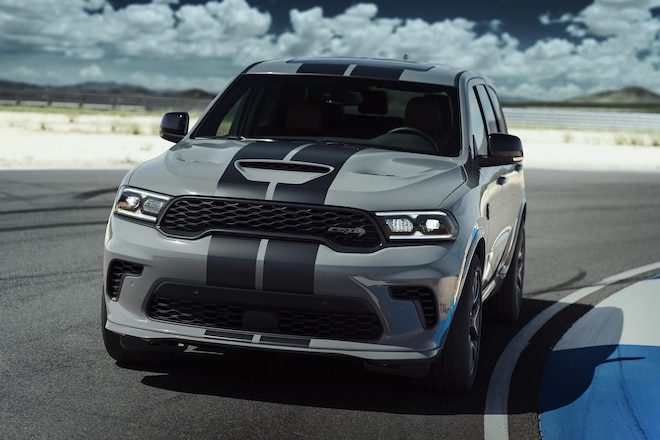Meet the World's Most Powerful SUV: The 2021 Dodge Durango Hellcat