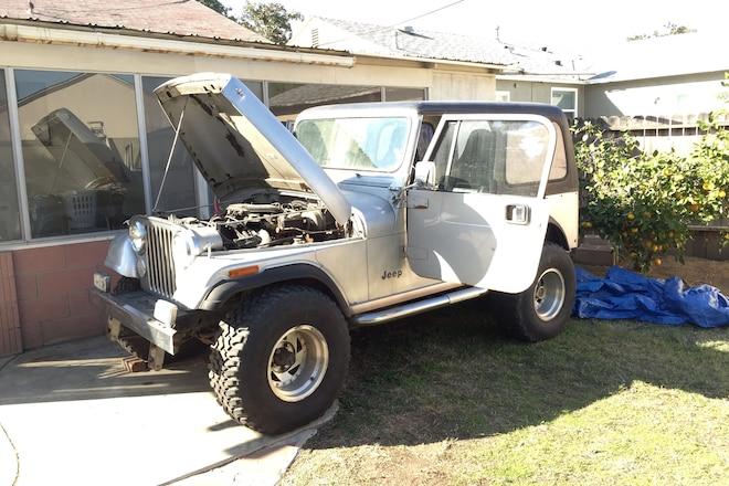 Jeep CJ-7 Build Basics- Introduction