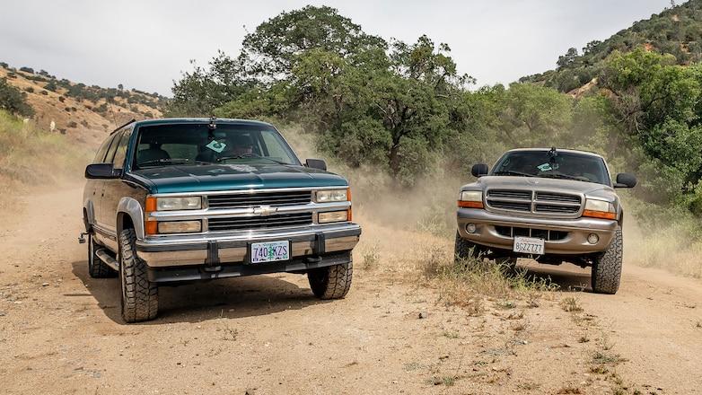 Dodge Durango vs. Chevy Suburban: Roadkill's Cheap 4x4 Challenge