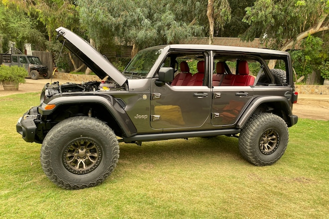 We Drive The Jeep Wrangler 392 Concept