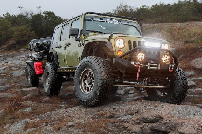 Overland Jeep Build: 2010 Jeep Wrangler and Off-Road Adventure Trailer