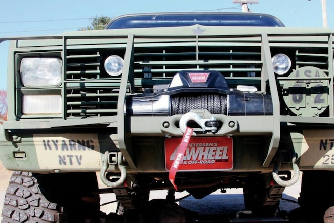 Warn Is the Official Winch of the 2020 Overland Adventure!