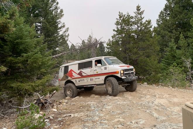VAN LIFE: Off Road 4x4 conversion vans on Ultimate Adventure #UA2020
