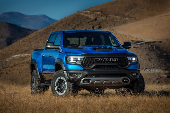 2021 Trucks With V-8 Engines