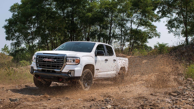The 2021 GMC Canyon AT4 gets an Off-Road Performance Edition