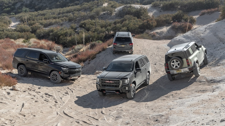 Four Wheeler SUV of the Year Specs