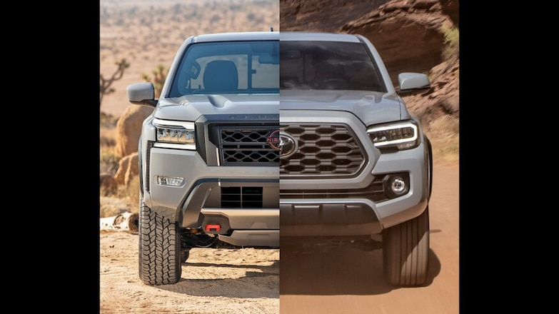 2022 Nissan Frontier vs. 2021 Toyota Tacoma: Pro-4X or TRD Off-Road?