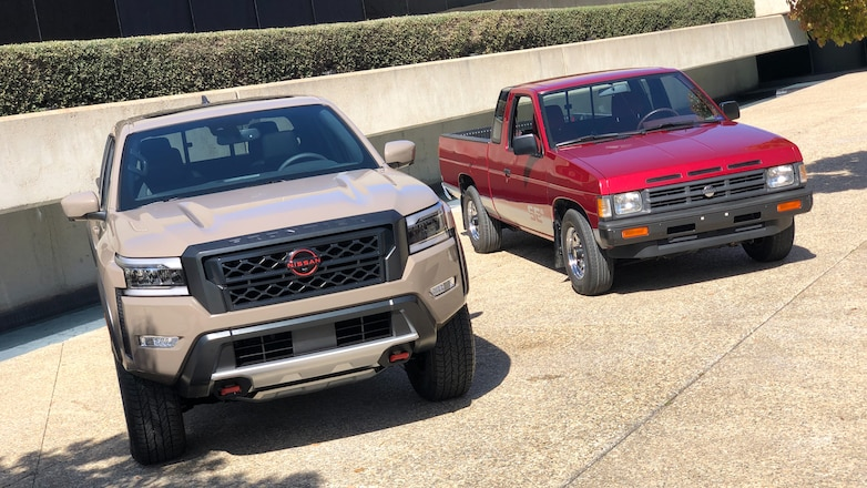 We Take the 2022 Nissan Frontier and Pathfinder Out of the Studio!